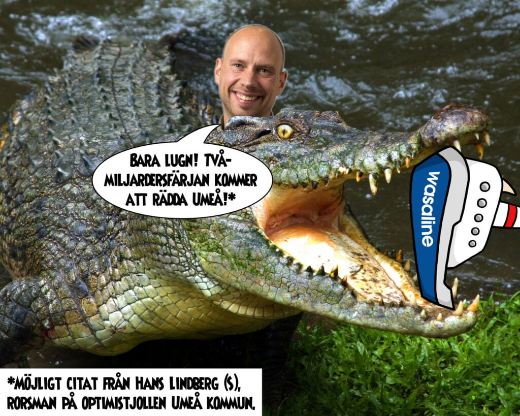 Lindberg-krokodilen Deluxe